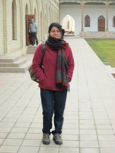 Cold, windy day at Kokand