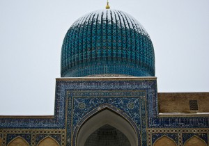 Gur-e-Amir Snow-capped Dome