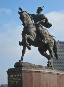 Amir Timur Statue