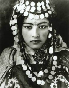 Young Tunisian Berber woman