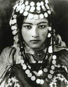 Young Tunisian Berber woman