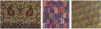 Boteh motifs