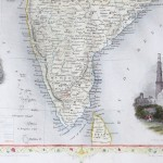 Map of British India, 1855