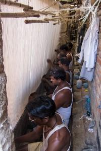 Weavers Behind the Carpet