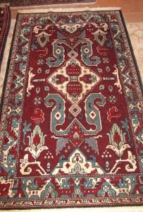 Boring dragon rug