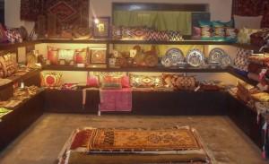 Arastan's Set-up at Good Earth