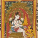 Buddhist Manuscript on Palm Leaf: early example of miniature painting