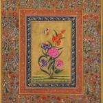Floral Rajasthani Miniature Painting