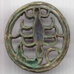 Scorpion Bronze Seal