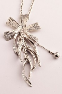 Karen Orchid Necklace