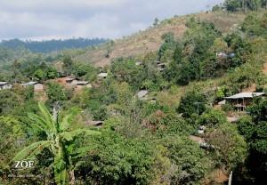 Karen Hill Tribe Village