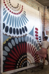 Jaipur Rugs Tufting Centre in Mirzapur