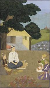 Prince Dara Shikoh visiting the Ascetic Kamal